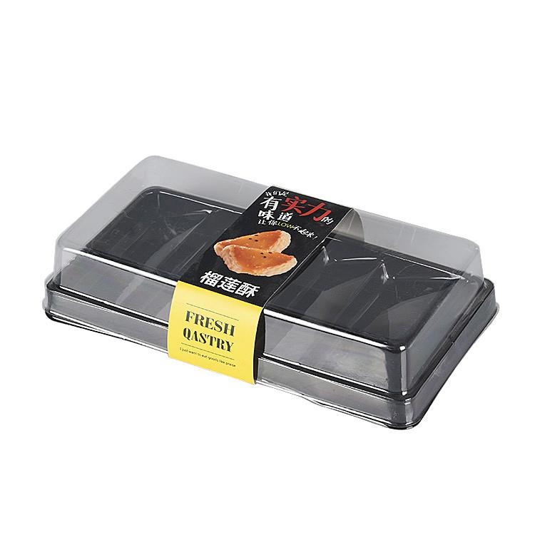 Clear Disposable Custom Plastic Food Grade Takeaway Sushi Box