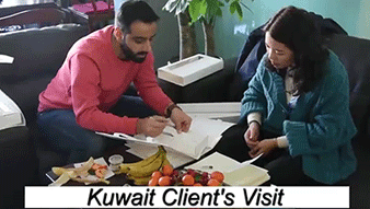 Kuwait Client's Visit