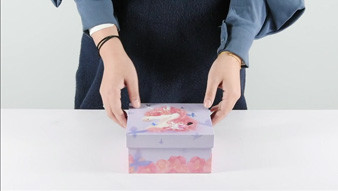 Wholesale gift packaging box show