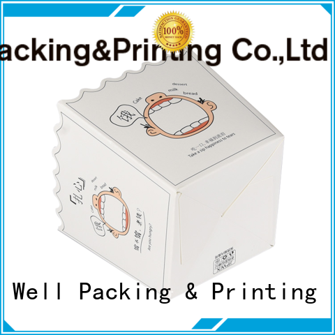 Well Packing & Printing bakery packaging boxes eco-friendly manufacturer