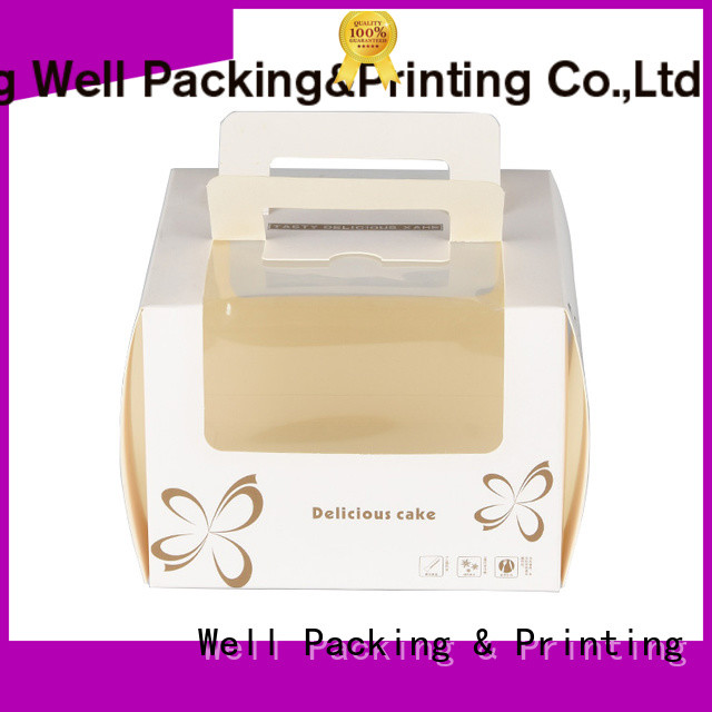 creative design cake boxes in bulk fast delivery factory