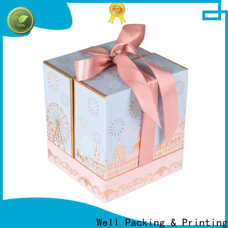 Well Packing & Printing empty gift boxes wholesale high grade