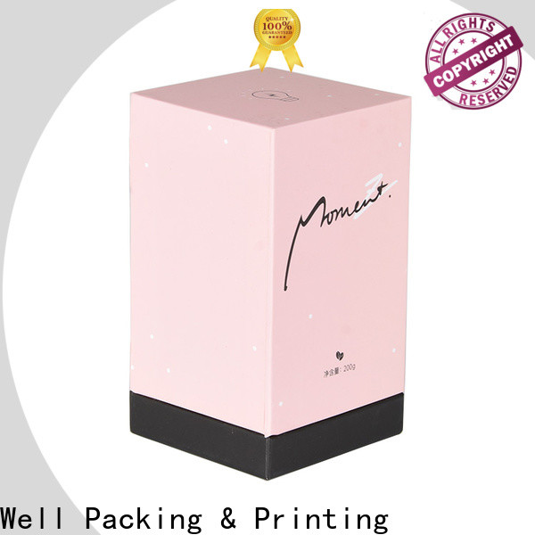 Well Packing & Printing hot stamping cosmetic packaging supplies low price distributer