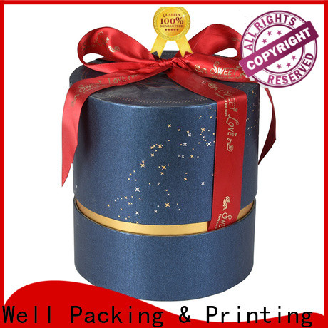 Well Packing & Printing gift packaging box wholesale suppy