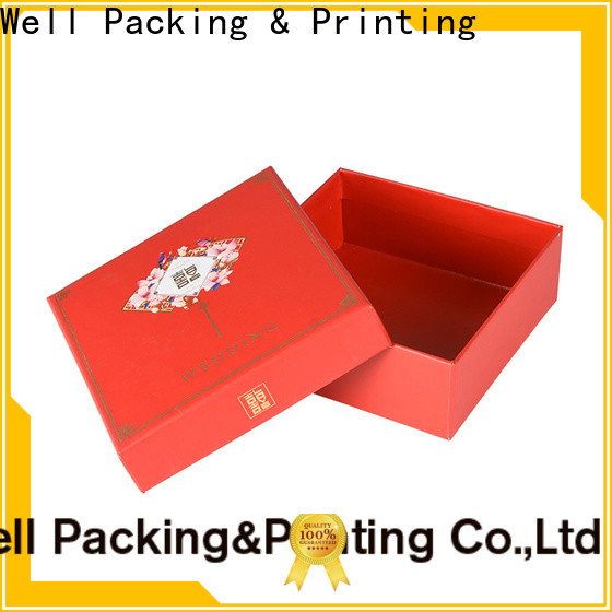 Well Packing & Printing custom gift packaging wholesale wholesale short lead time