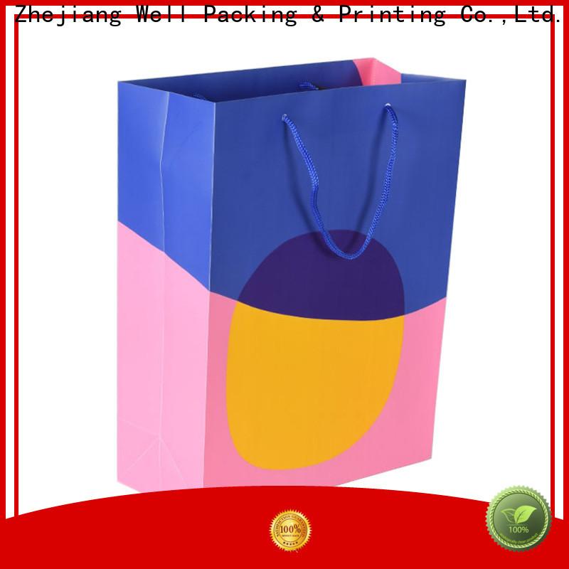 Well Packing & Printing polypropylene shopping bags durable customization