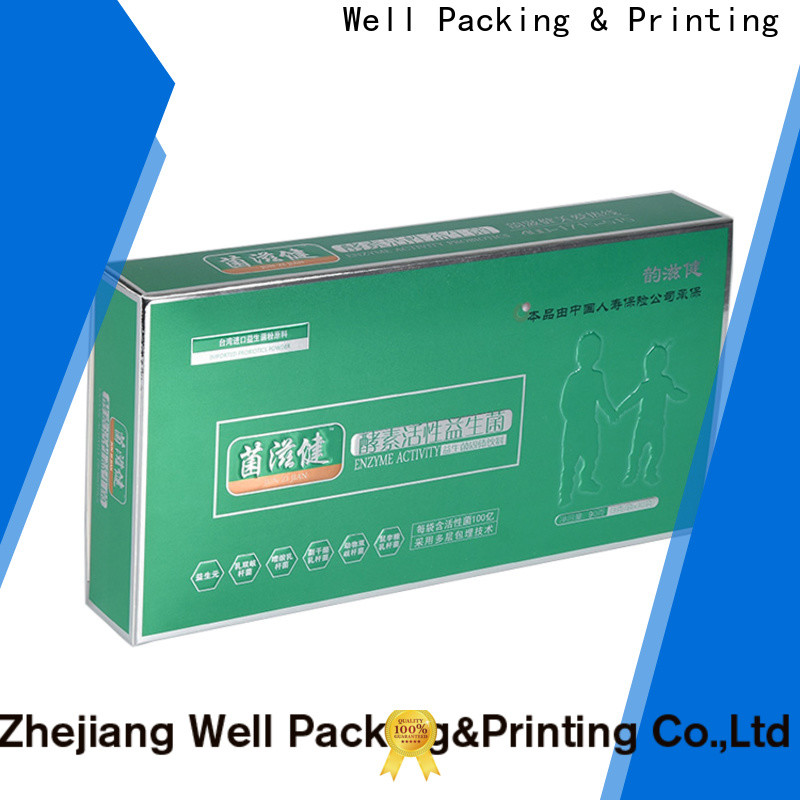 Well Packing & Printing high grade packaging of pharmaceutical products calcium tablets manufacturing