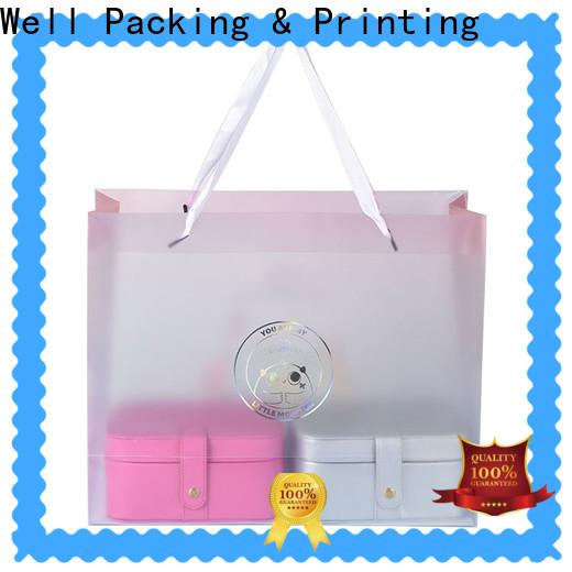 Well Packing & Printing polypropylene shopping bags handy customization
