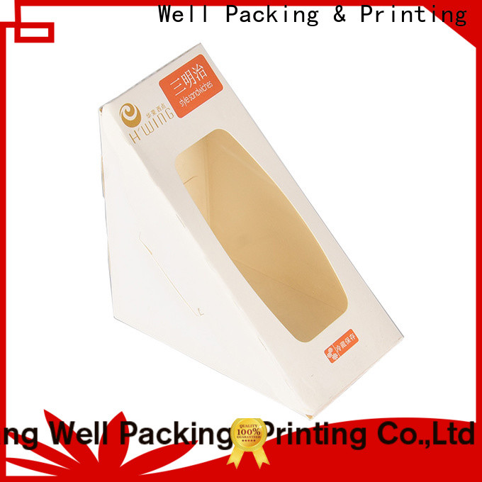 Well Packing & Printing disposable cake box quality assured customization