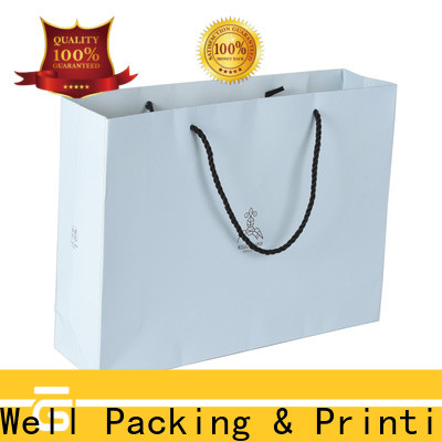 Well Packing & Printing custom paper bags fast delivery with handle