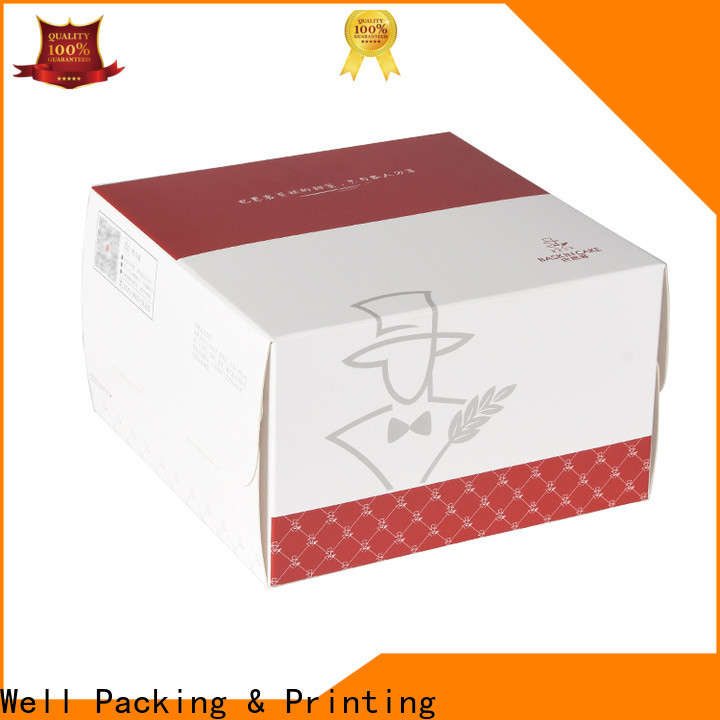 Well Packing & Printing single cupcake boxes bulk supply factory