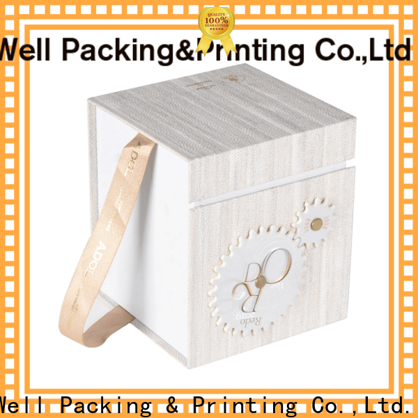 Well Packing & Printing factory direct bulk gift boxes brand printing short lead time
