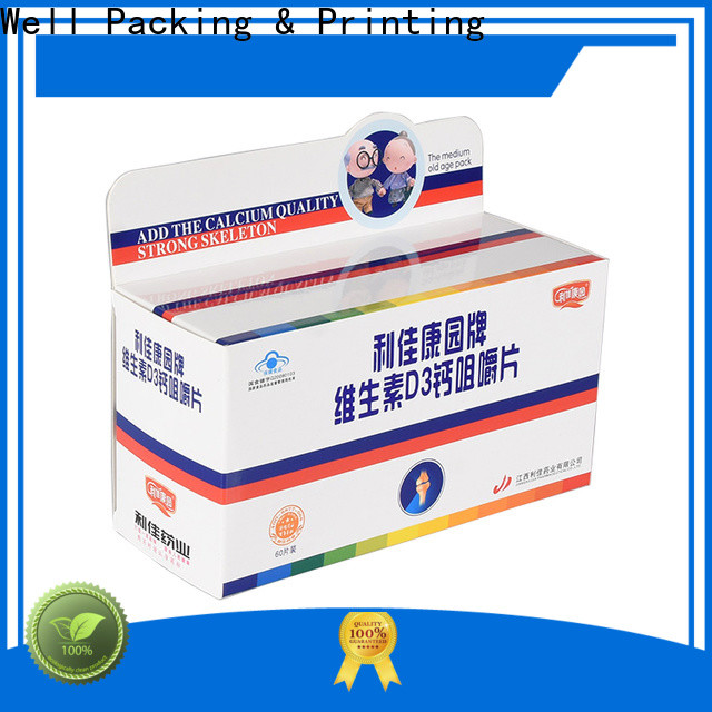 high grade pharma box customized design new arrival