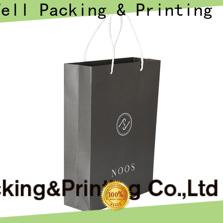 Well Packing & Printing custom paper bags wholesale eco-friendly with handle