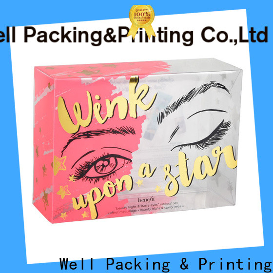 Well Packing & Printing cosmetics packaging box safe packaging manufacturer