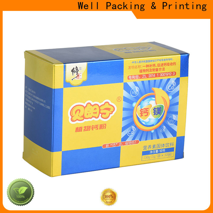 Well Packing & Printing packaging of pharmaceutical products health care products wholesale