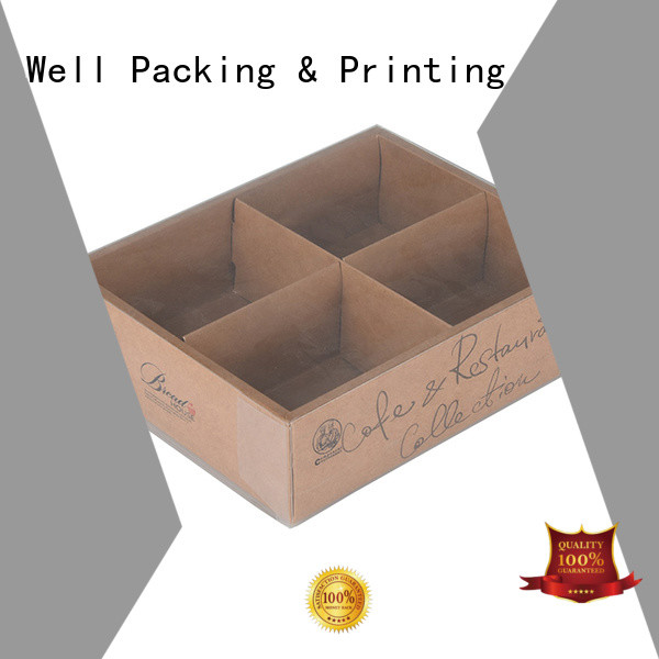 Well Packing & Printing factory bakery packaging box eco-friendly manufacturer