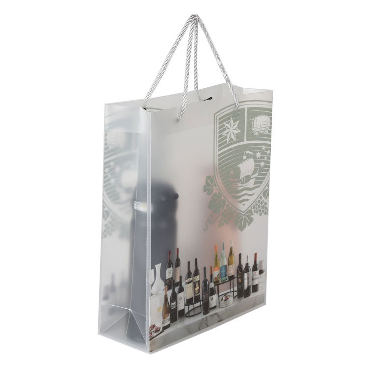 Custom Eco friendly Clear Transparent Plastic Reusable Waterproof PVC Shopping Bag With Brand Own Logo