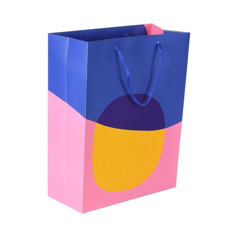 Customized Print Folding Portable Plastic Shopping Bag with Brand Name Logo