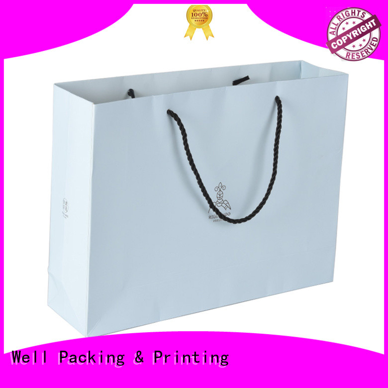 Well Packing & Printing printed paper bags wholesale fast delivery bulk supply