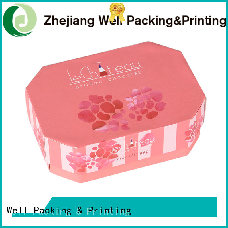 Well Packing & Printing custom gift boxes delicate design suppy