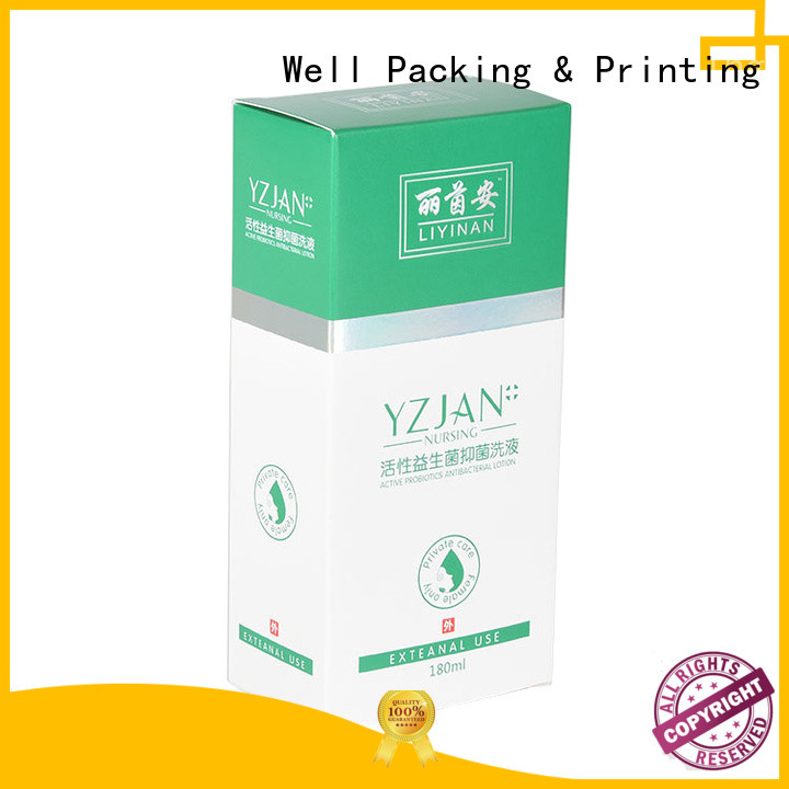 Well Packing & Printing packaging of pharmaceutical products health care products manufacturing