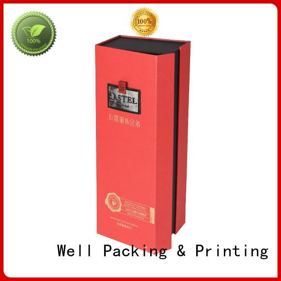Well Packing & Printing custom custom gift boxes brand printing short lead time
