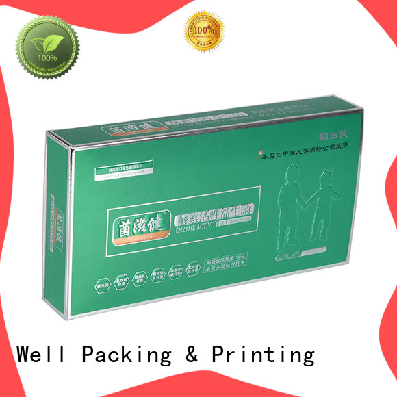 Well Packing & Printing high grade packaging of pharmaceutical products calcium tablets new arrival