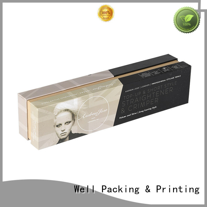 Well Packing & Printing protective cosmetics packaging box fast delivery supplier