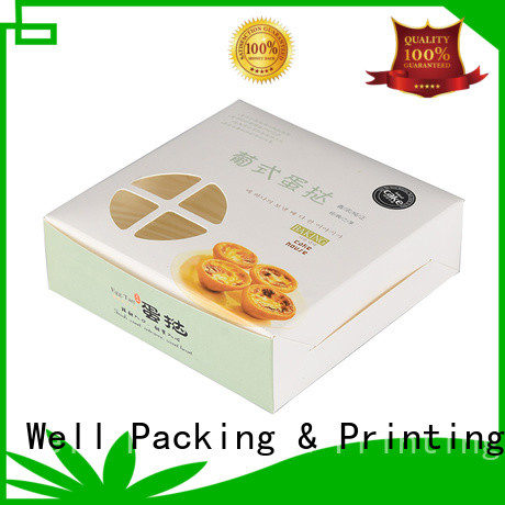 Well Packing & Printing bakery packaging supplies protective production